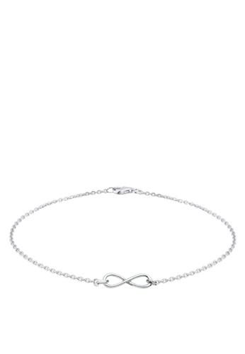 無限 925 純銀手鐲, 飾品配件zalora退貨, 手鐲 & 手環