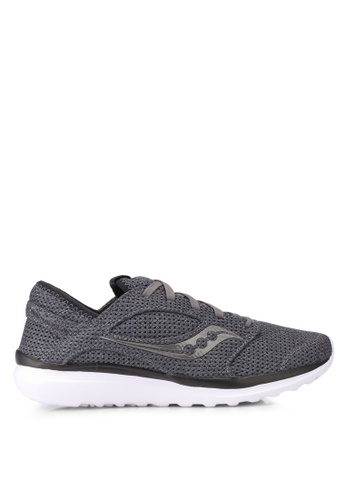 Saucony grey Kineta Relay Shoes SA304SH0SW5EMY_1
