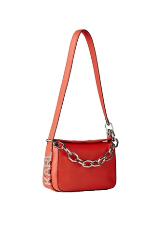 KARL LAGERFELD red K/Letters Sm Shoulderbag 004E1AC6AB5123GS_1