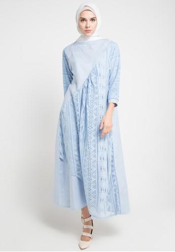 Jual Le Najwa Lara Dress Muslim Original Zalora Indonesia