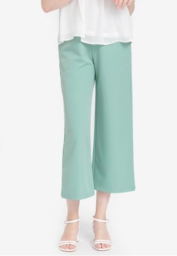Kodz green Tailored Culottes 9B168AA38FB4ADGS_1