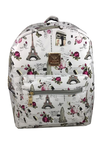 TCWK white TCWK Women White Backpack 4A7BAACD419984GS_1