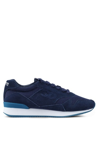 Superdry navy Superdry Athletics Runner Trainers 60350SH1AEE7D6GS_1