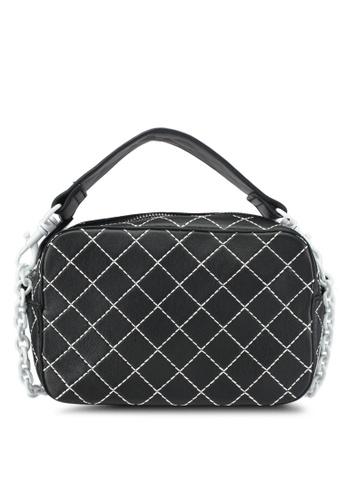 Mango black Seam Cross-Body Bag E0690AC037F346GS_1