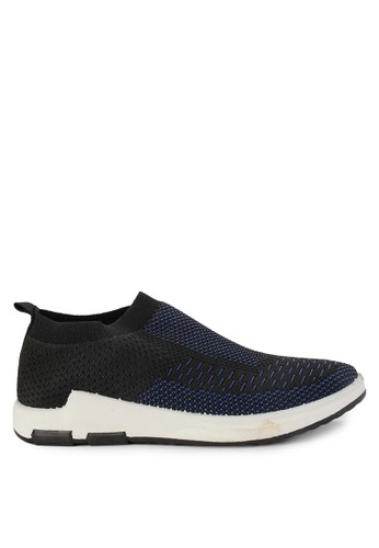 Declan navy Grady Slip On Sneakers 20B3DSHF0194ECGS_1