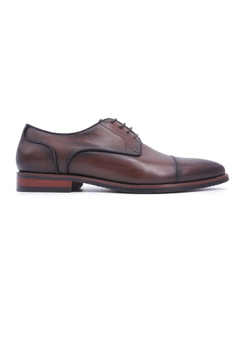 Rad Russel brown Rad Russel Lace-up Derby - Brown A1A37SH892BF80GS_1