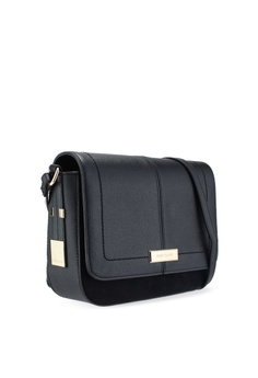ee41e60d9 32% OFF River Island Black Crossbody Bag RM 215.00 NOW RM 145.52 Sizes One  Size