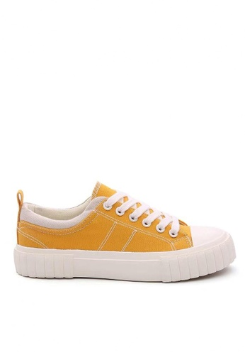 Twenty Eight Shoes Canvas Platform Sneakers 19630 839F5SH3967B5CGS_1