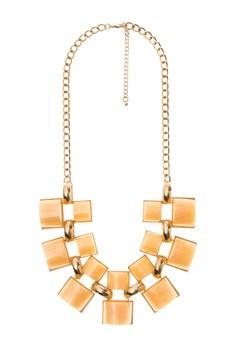 Big Enamel Chain Necklace