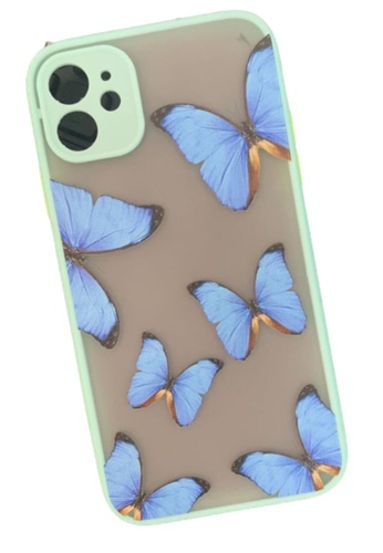 Kings Collection blue Blue Butterfly iPhone 11 Case (KCMCL2197) A2F00AC73FAEC9GS_1
