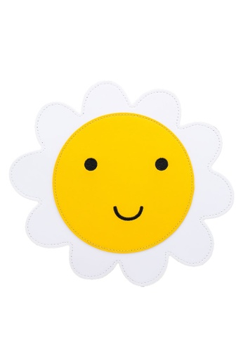 Cath Kidston yellow Solid Novelty Daisy Sling Bag B684EKCE9697BFGS_1