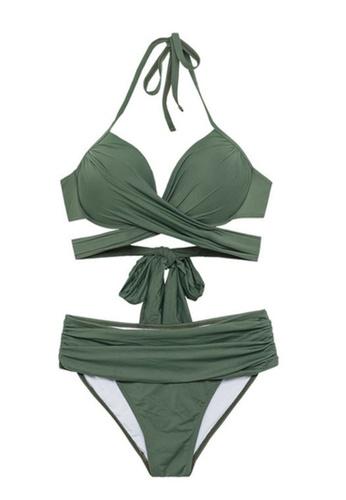 Halo green Sexy Swimsuit Bikini DF4F1USEDDF8BAGS_1