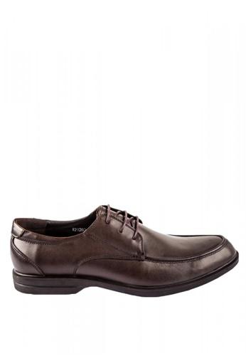 Otto brown Lace up Derby Shoes 2D32DSHC47FC51GS_1