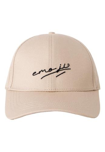 Emoji beige EMOJI CAP EF789ACC91EE0EGS_1