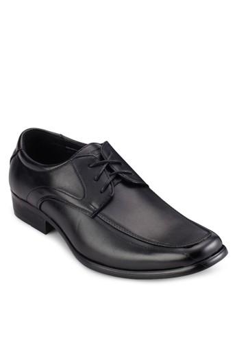 三眼繫帶商務仿皮鞋, 鞋,esprit outlet 高雄 皮鞋
