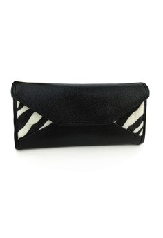 Zebra Long Wallet