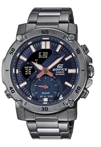 CASIO grey Casio Edifice ECB-20DC-1ADF Blue and Grey Stainless Steel Watch 287F8AC9850888GS_1