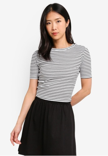 ZALORA BASICS multi Basic Rib Crop Top B7B28AA769A18BGS_1