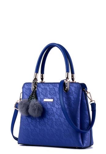 TCWK blue TCWK Korea Style Blue Ladies Handbag TC258AC0RRZMMY_1