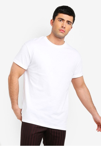 74b45df92809a7 Buy Topman White Oversized T-Shirt
