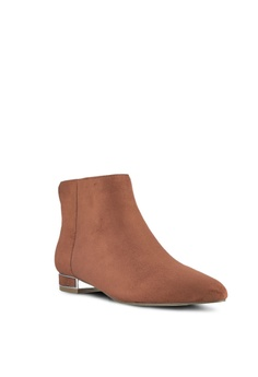 54 OFF ZALORA Microfiber Boots RM 149 00 NOW RM 69 00 Available in several  sizes