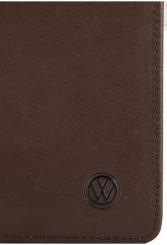 Volkswagen 真皮對折長夾
