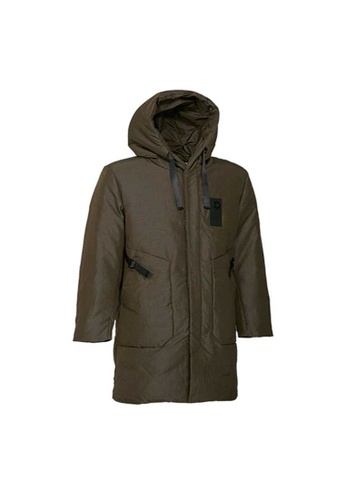 Universal Traveller brown Universal Traveller Classic Down Jacket - DJ 9023 AF2C8AA9B7E7A6GS_1