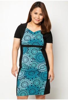 Elise Short Plus Size Dress