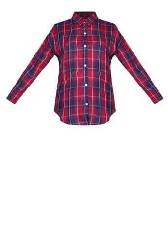 e316501b0d27 Shop Chase Fashion Plaid Flannel Shirt Online on ZALORA Philippines
