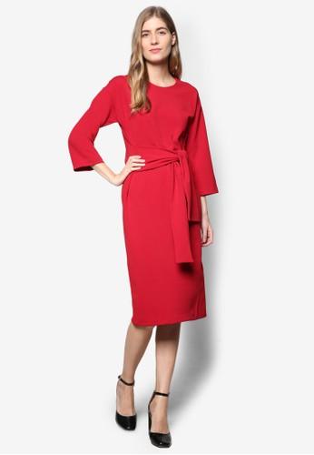 側繫帶及膝連身裙, esprit home 台灣服飾, 洋裝
