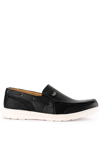 Watchout! Shoes black Semi Moccasin BB99CSH158FBBFGS_1