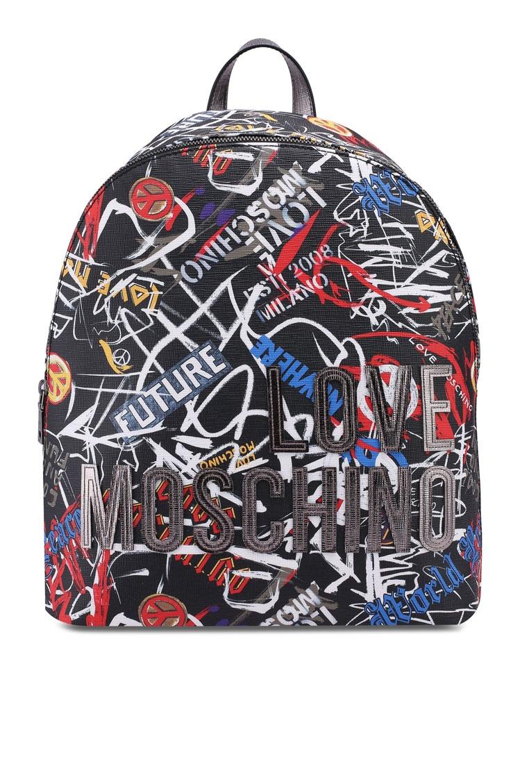 9788a653ba5 Friday Borsa Backpack Love Black Black Moschino Digital xwSwCYrqP ...