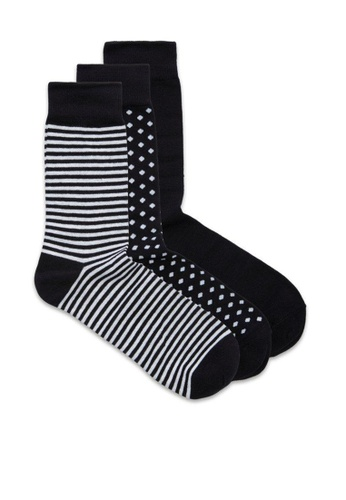 Jack & Jones black 3 Packs Organic Socks 6B37BAA82EA0BCGS_1