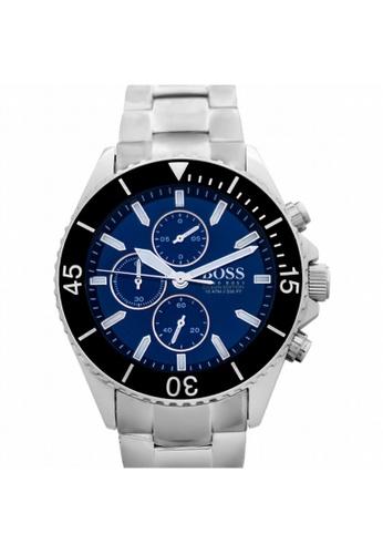 Hugo Boss [NEW] Hugo Boss Hugo Boss Men's Ocean Edition Blue Dial 48mm HB1513704 1905BAC85D4E53GS_1