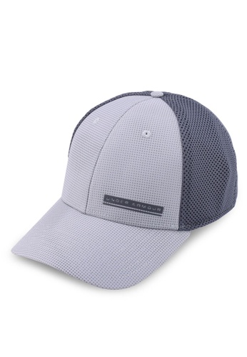 Under Armour grey Men's Train Spacer Mesh Cap 9765DACE0276C1GS_1