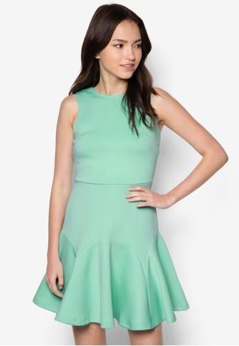 Sharozalora開箱n 削背傘擺洋裝, 服飾, 洋裝