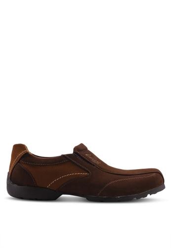 Louis Cuppers 褐色 Smart Casual Slip Ons E1D0ESH2274BEFGS_1
