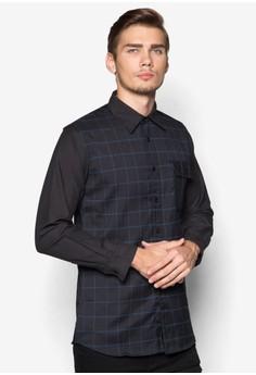 WT-Pin Checkered Long Sleeve Shirt