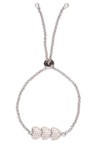 Silverworks Silver Triple Heart Bracelet Si696ac66dztph 1