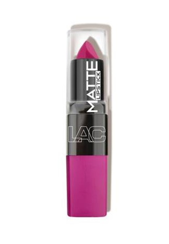 LA Colors pink Matte Lipstick in Mad Love LA097BE0KBEIPH_1
