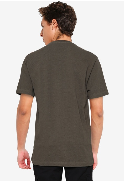 French Connection Popcorn Jersey Short Sleeves T-shirt