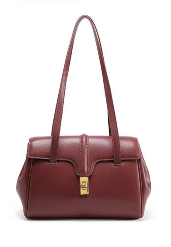 Twenty Eight Shoes red VANSA Nappa Leather Handle Single shoulder Bag VBW-Hb8180L 75CD2AC154816CGS_1