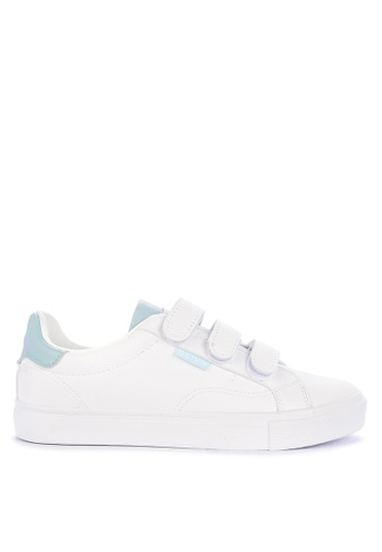Appetite Shoes white Double Strap Sneakers 81204SH7640668GS_1