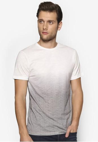 漸層色幾何印花TEE, 服esprit分店飾, T恤