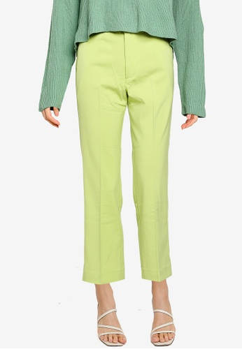 JEANASIS green Basic Trousers D3770AA743900AGS_1