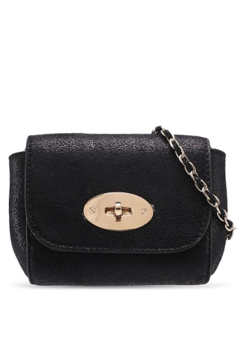 Dorothy Perkins black Black Mini Iconic Crossbody Bag B06A6AC5BF50D8GS_1