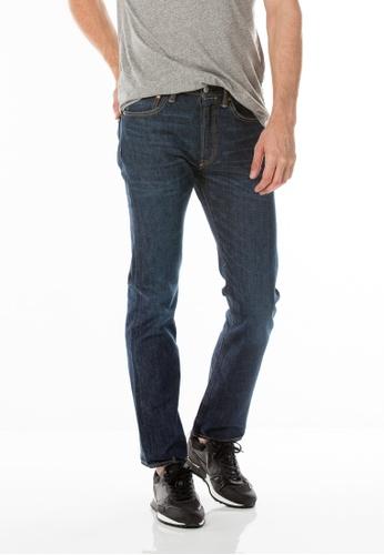 Levi's blue 501® Original Fit Performance Cool Jeans LE843AA99SMISG_1