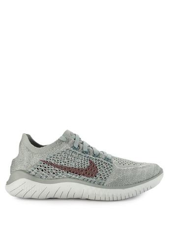 f385330762fd Nike green Women s Nike Free Rn Flyknit 2018 Shoes FAD13SH7150E75GS 1