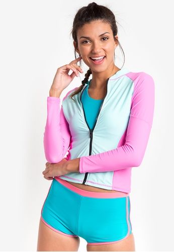 Kats Clothing pink Rashguard KA896US09MWOPH_1