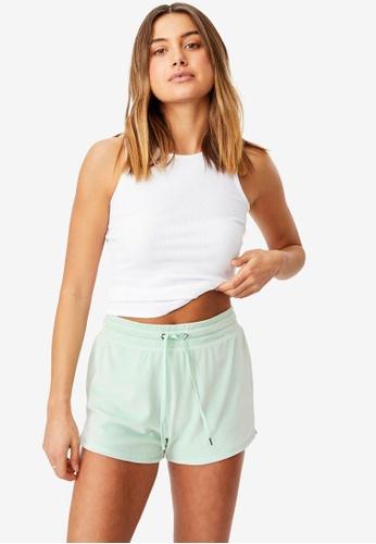 Supre green Miya Super Soft Shorts A2F46AA578A0CCGS_1